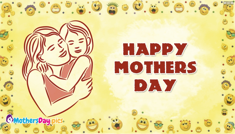 Happy Mothers Day Emoji - Mothers Day Pics for Free Download