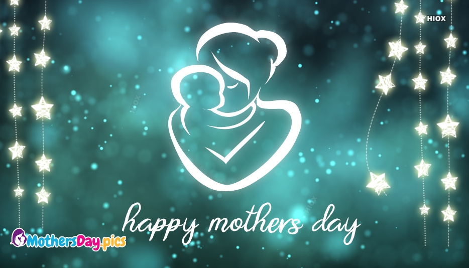 Happy Mothers Day Glitter