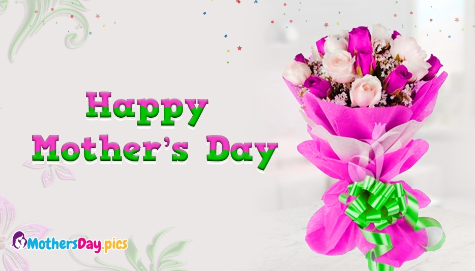happy mothers day bouquet images