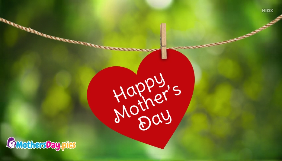 Happy Mothers Day Heart Images