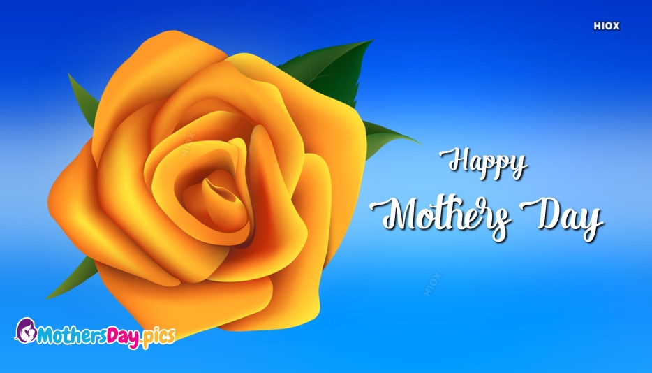 Happy Mothers Day Yellow Roses