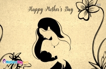Happy Mothers Day Black And White