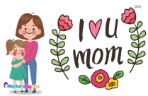 i love you mom cartoon images